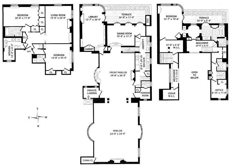Joan Rivers Apartment joan rivers 1 east 62nd st | house plans | pinterest | joan rivers
