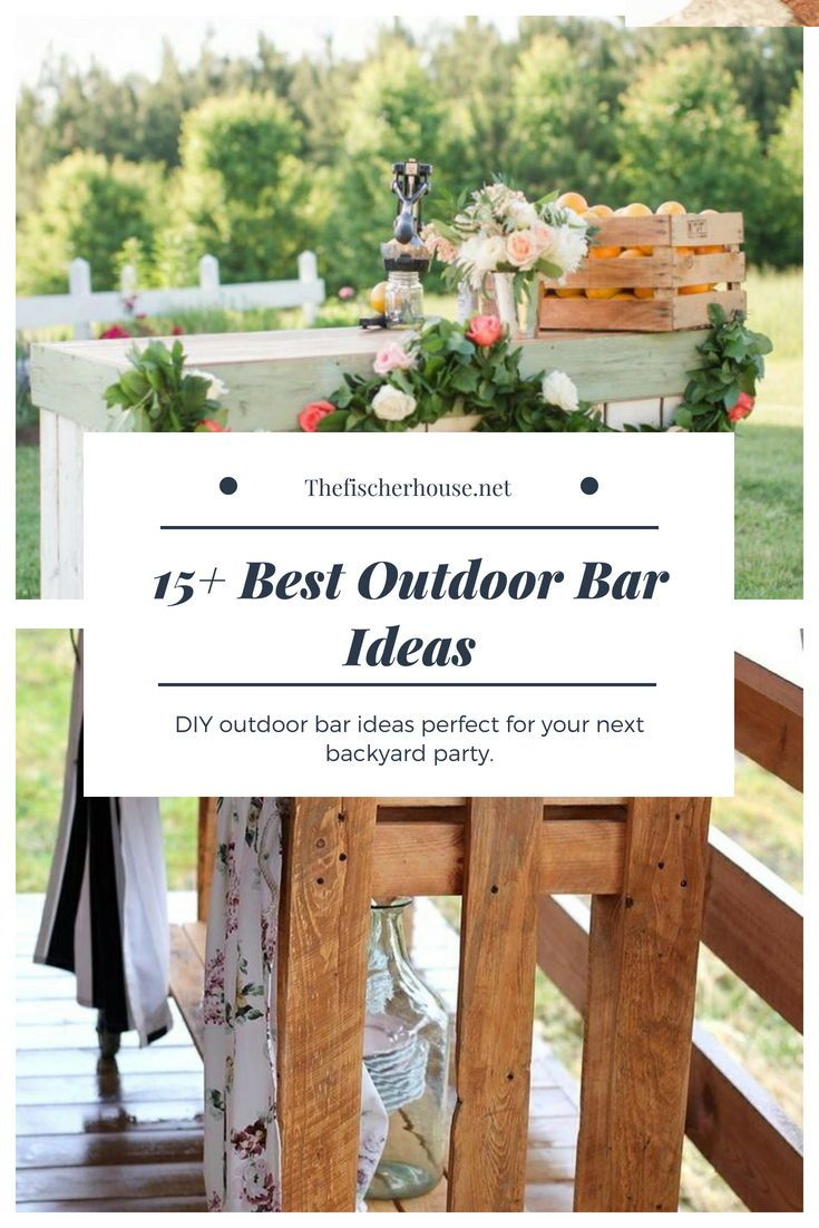 16 Smart and Delightful Outdoor Bar Ideas to Try | Modern Outdoor ...