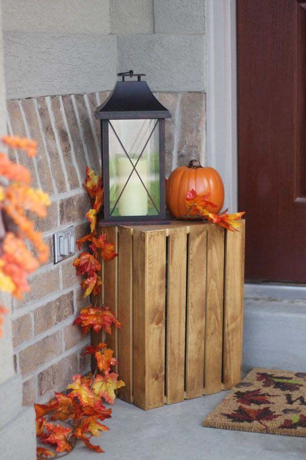 40 Amazing Fall Inspired Front Porch Decorating Ideas Fall Front Porch Decor Fall Decor Fall Halloween Decor