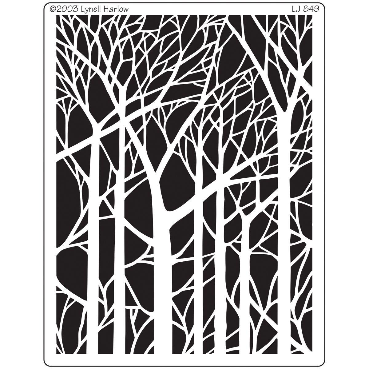 """dreamweaver metal stencil 4""""x6.75"""""""