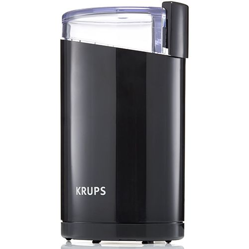 Quickly Grind Your Favorite Coffee Beans With The Iconic Krups F203 Coffee Grinder This Versatile Unit Also Grinds Spices N Krups Coffee Grinder Krups Coffee