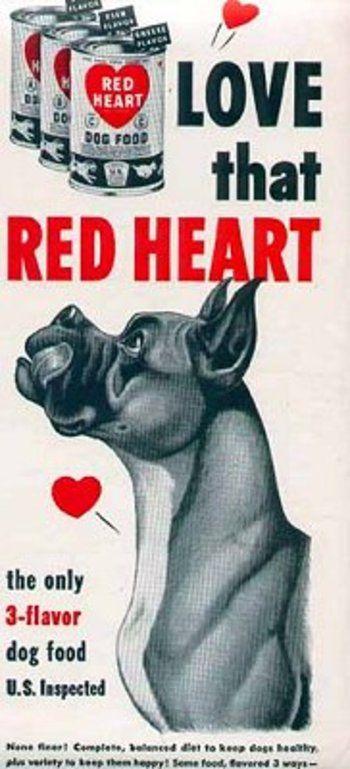 13 Retro Dog Food Advertisements The Hydrant Retro dog
