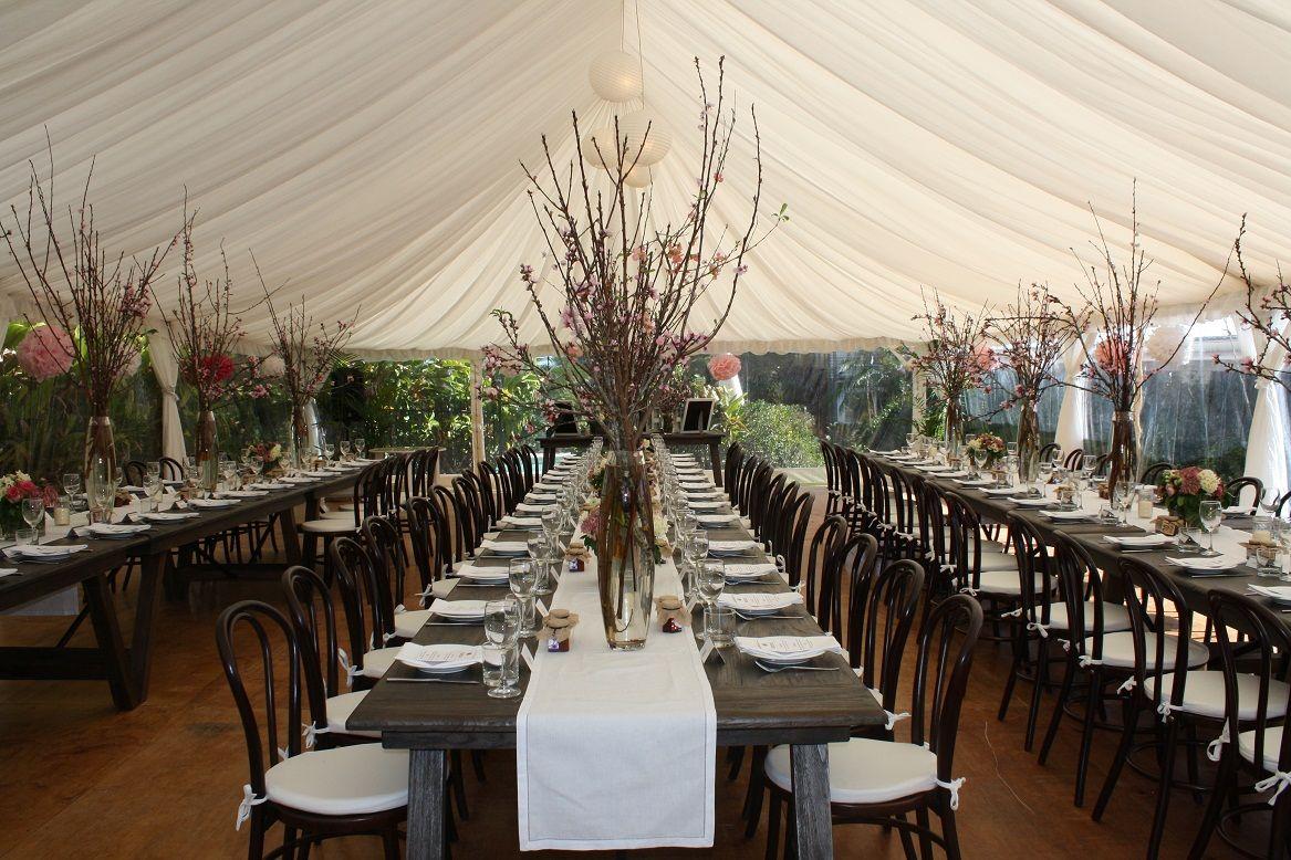 Wedding Marquee Styling Byron Bay Wedding Venues Pinterest