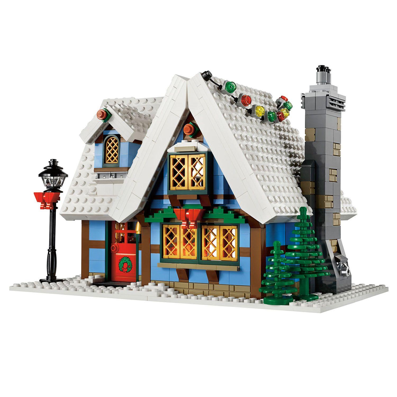 Lego Winter Village Cottage 10229 Lego Winter Lego Winter Village Lego Gingerbread House
