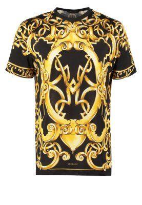 9509680ae6e4 T-shirt imprimé - nero oro   F R I N G U E S   Shirts, Versace et T ...