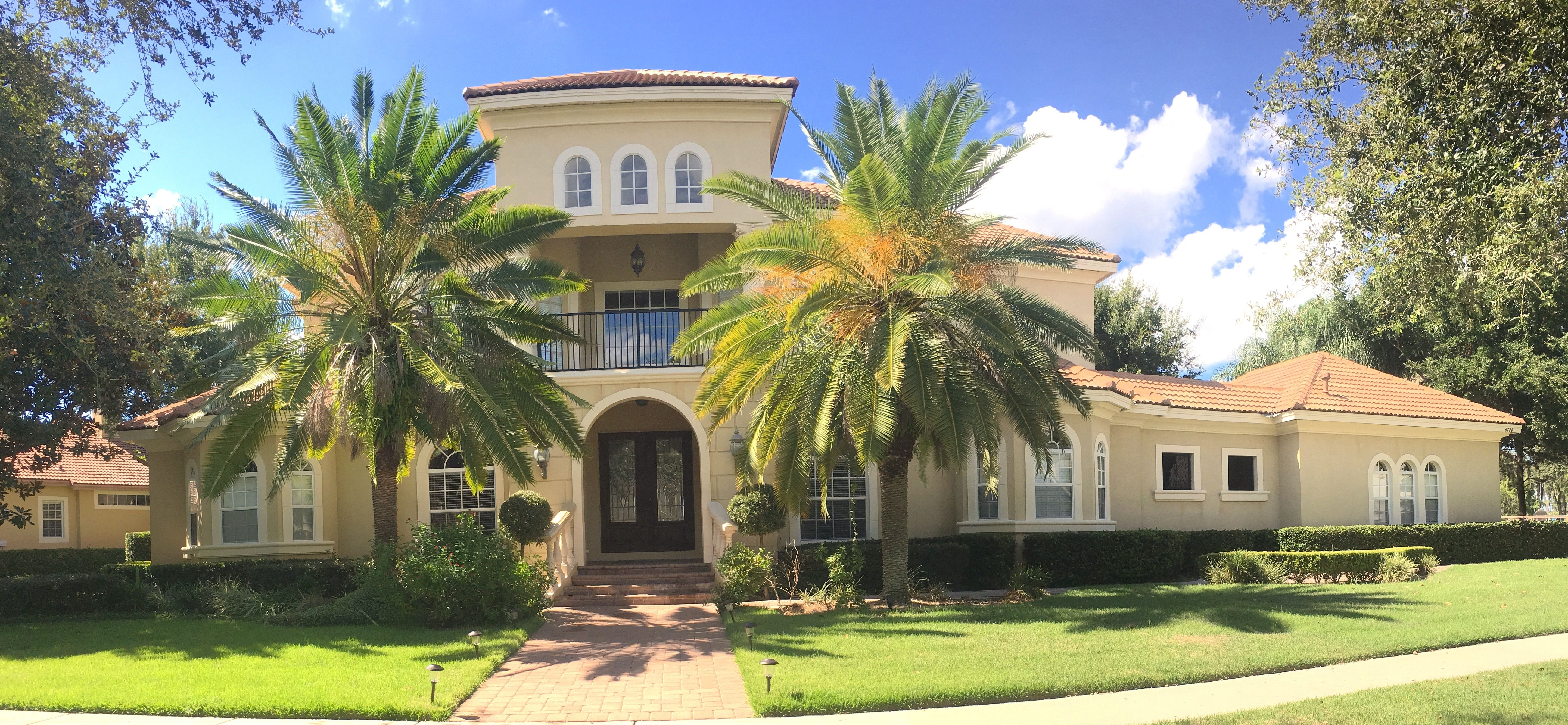 Another Beautiful Home We Pressure Washed In The #Windermere Area Of  #Orlando. We