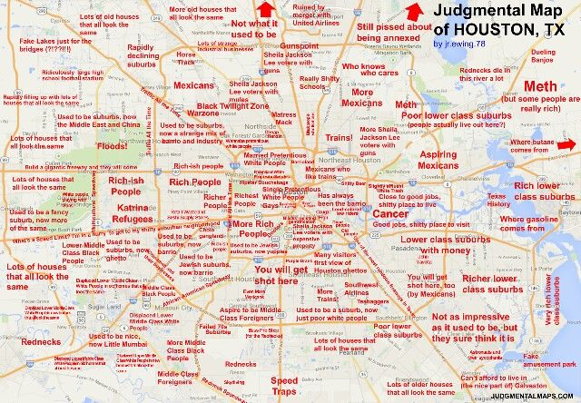 judgemental map of texas » Full HD MAPS Locations - Another World ...