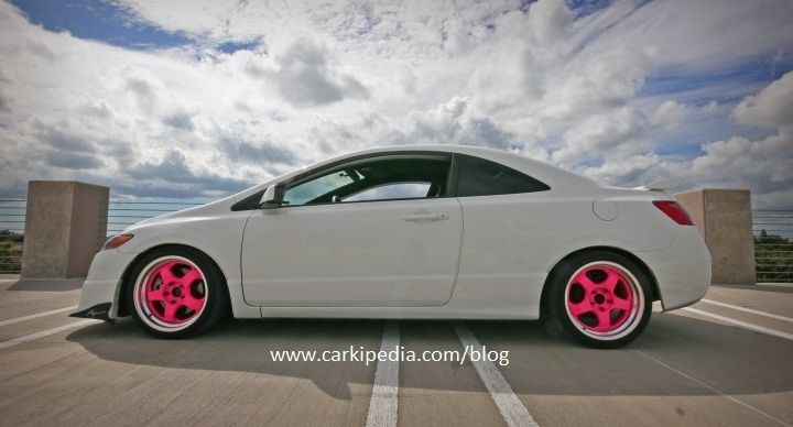 Lowered Honda Civic Honda Civic si And Honda