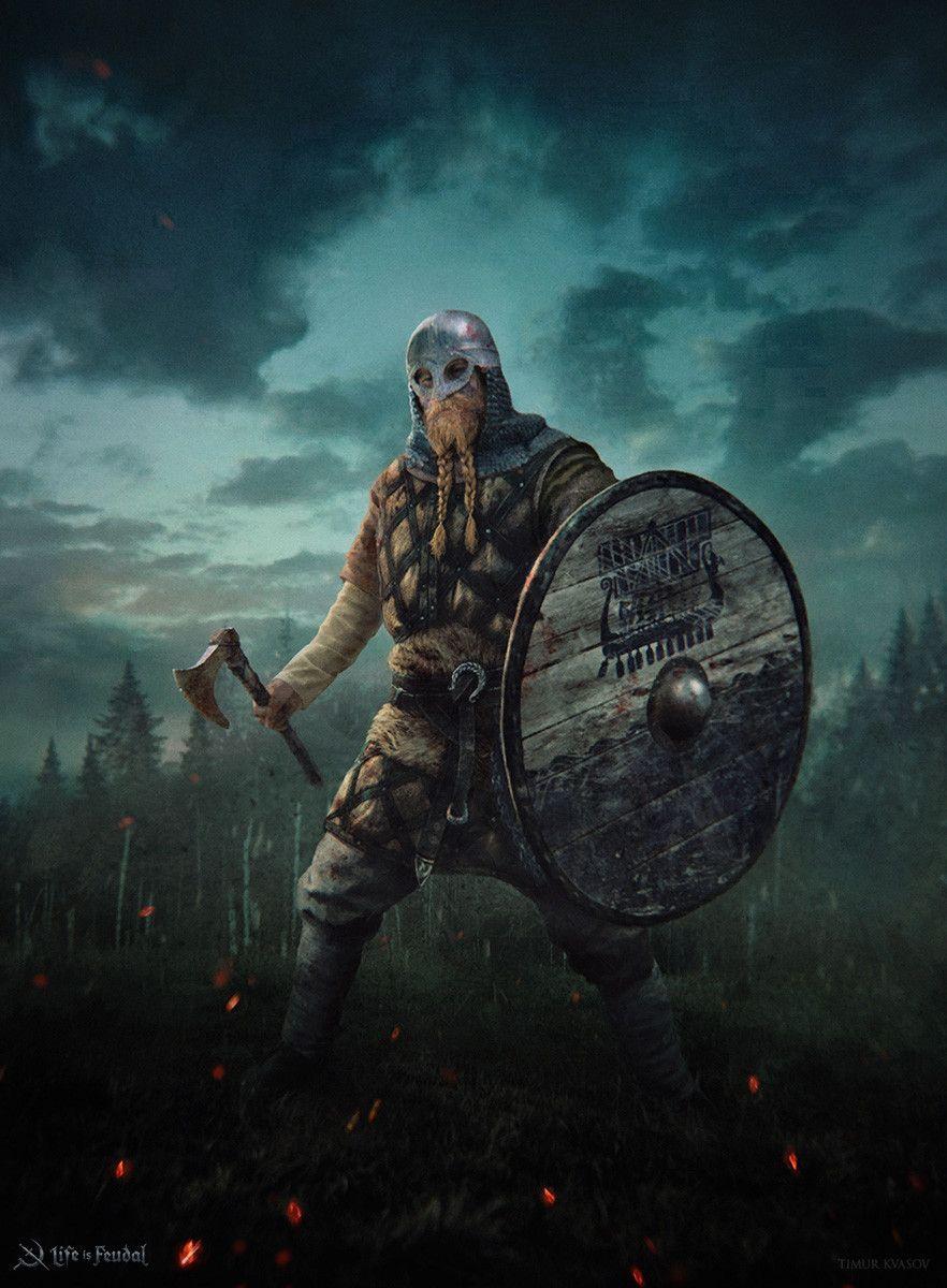 ArtStation - Life is Feudal - Medieval , Timur Kvasov | Tatouage viking, Illustrations de ...