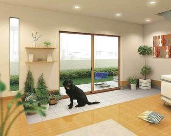 昔懐かしい 玄関 リノベーションで進化したお洒落な 土間 をのぞいてみよう キナリノ 犬と暮らす家 リビング 土間 犬のスペース