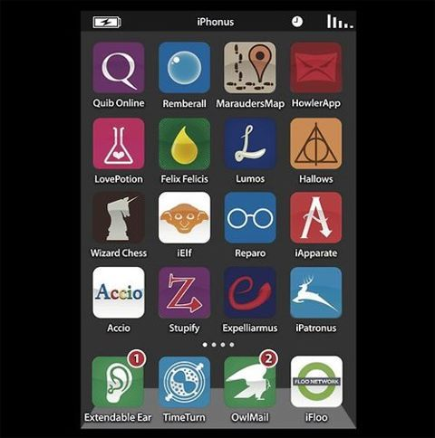 Harry Potter Iphone Apps
