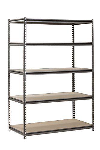 Muscle Rack Ur482472pb5p Sv Silver Vein Steel Storage Rack 5