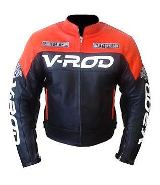 Menswear Racing V Rod Motorcycle Jacket Custom Leather Jackets Leather Jacket Men Jackets