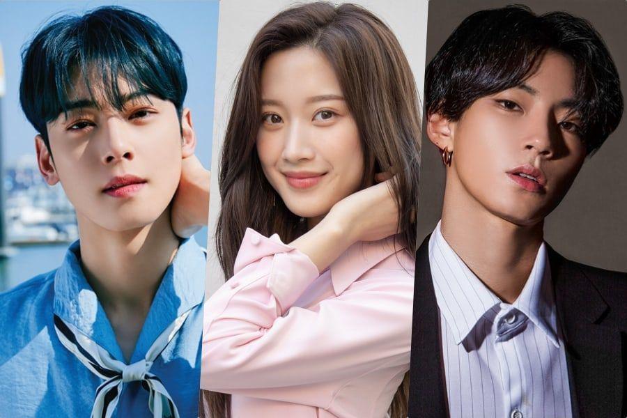 Cha Eun Woo Moon Ga Young And Hwang In Yeob Confirmed To Lead Drama Adaption Of Hit Webtoon True Beauty So True Beauty Attractive Male Actors Cha Eun Woo