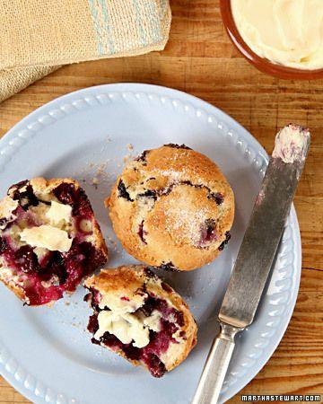 Blueberry muffins. Fresh blueberry muffins...