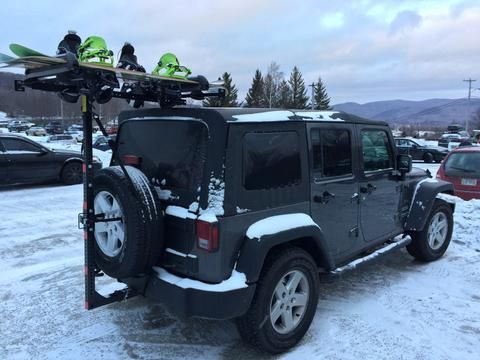 snowboarding adventures with your jeep