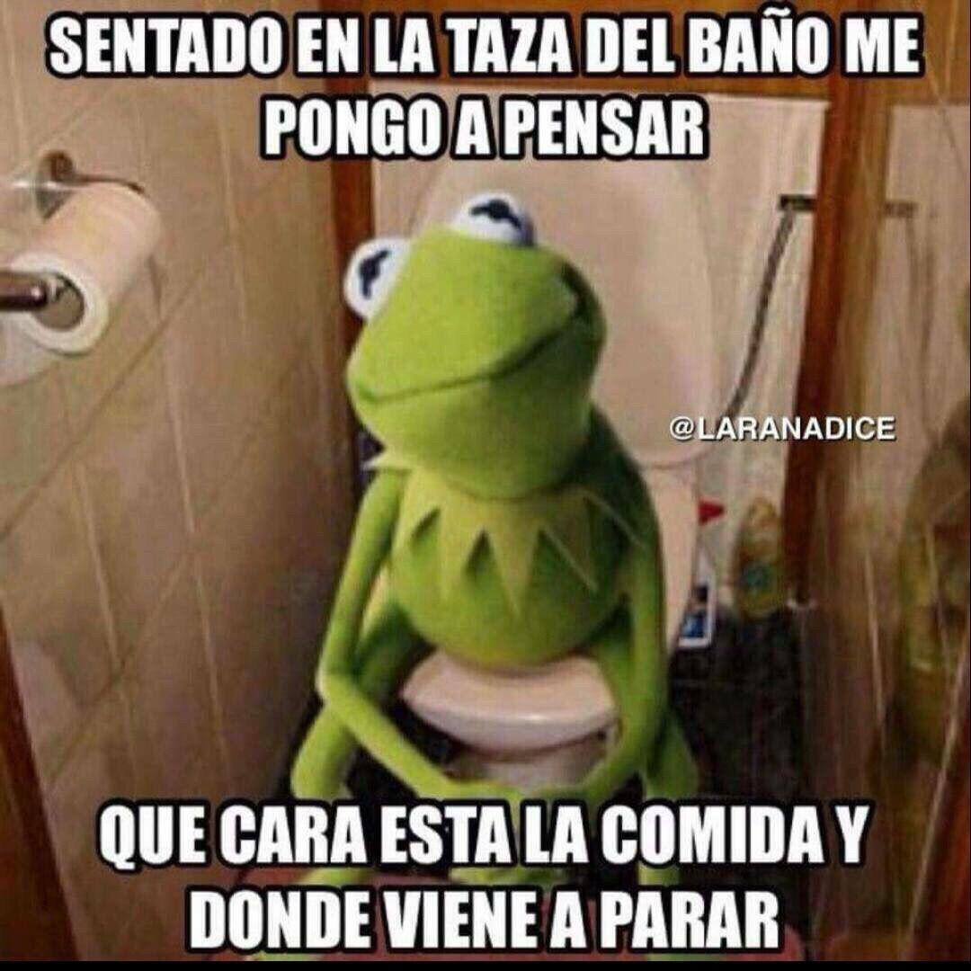Sentado En La Taza Del Bano Funny Spanish Jokes Funny Spanish Memes Funny Phrases