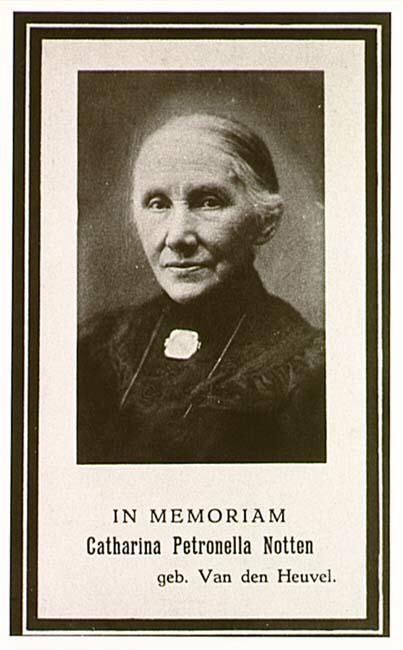 De firma Notten werd opgericht door Adrianus Andreas Notten en zijn vrouw Catharina Petronella van den Heuvel. Zij waren in 1872 getrouwd en...