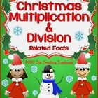 This Christmas/Winter themed multiplication and division worksheet packet is filled with fact families, fact tables, mixed practice and word problems! Multiplication facts and quotients to 9.  Aligned to 3rd grade Common Core standards.   This packet contains 16 worksheets in color and black & white versions.