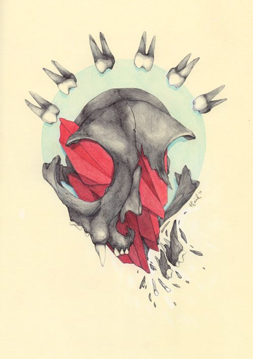 """Untitled - bic pen & color pencil in 8.25"""" x... by Tina St. Claire."""