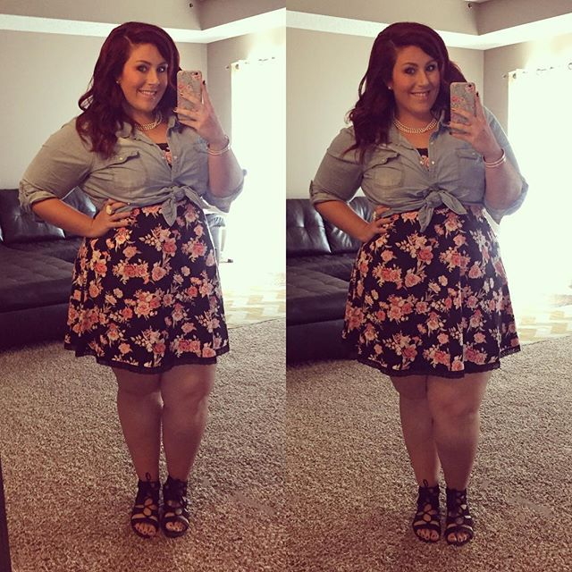 by @curves_curlsandclothes on Instagram | my style   <3 in