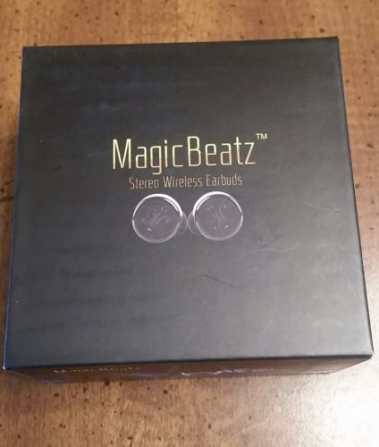 Magicbeatz Truly Wireless Earbuds Black New https://t.co/oMqyV9sny6 https://t.co/wpTDdha4Ea
