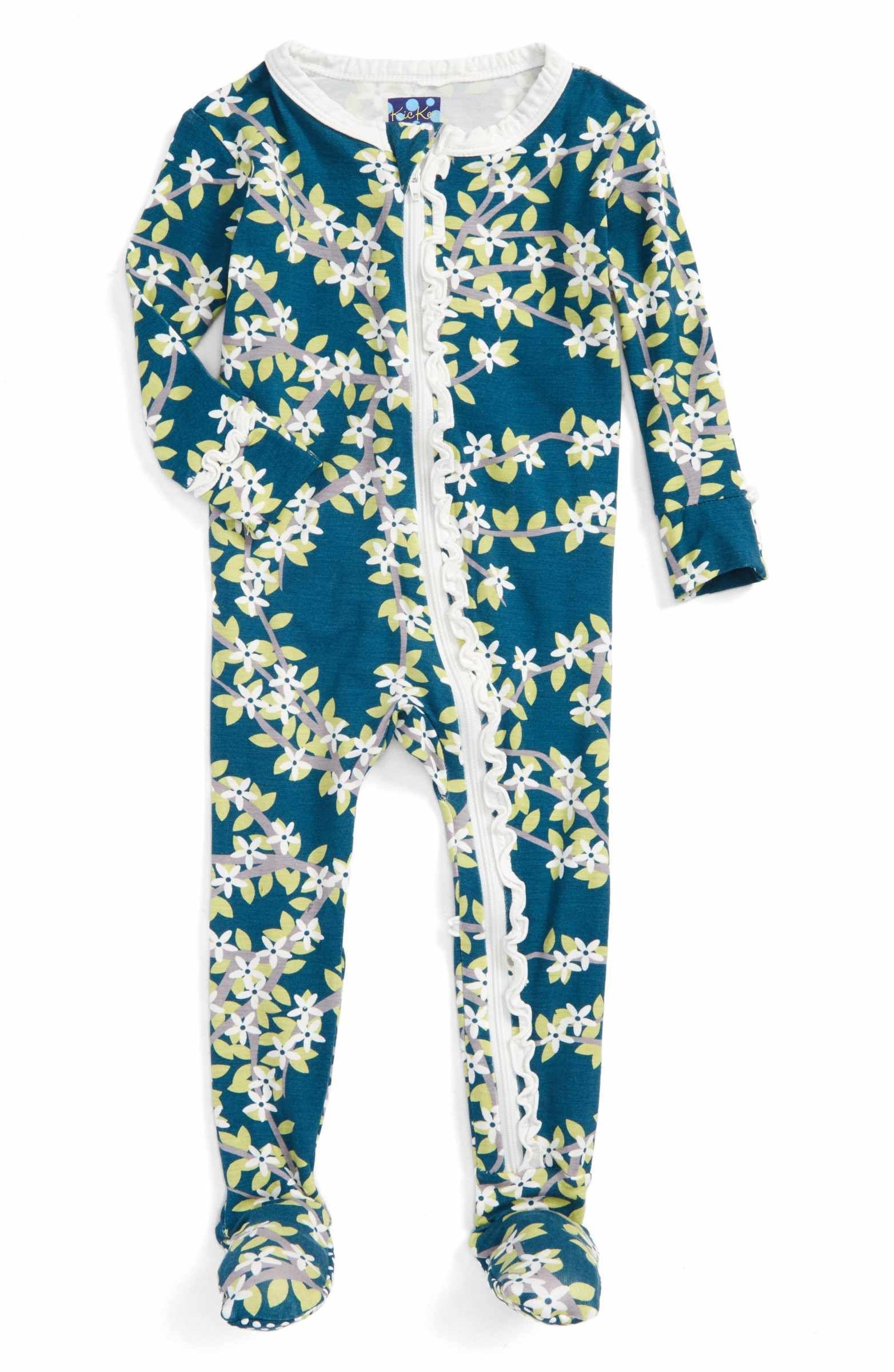 Main Image Kickee Pants Fitted e Piece Footie Pajamas Baby