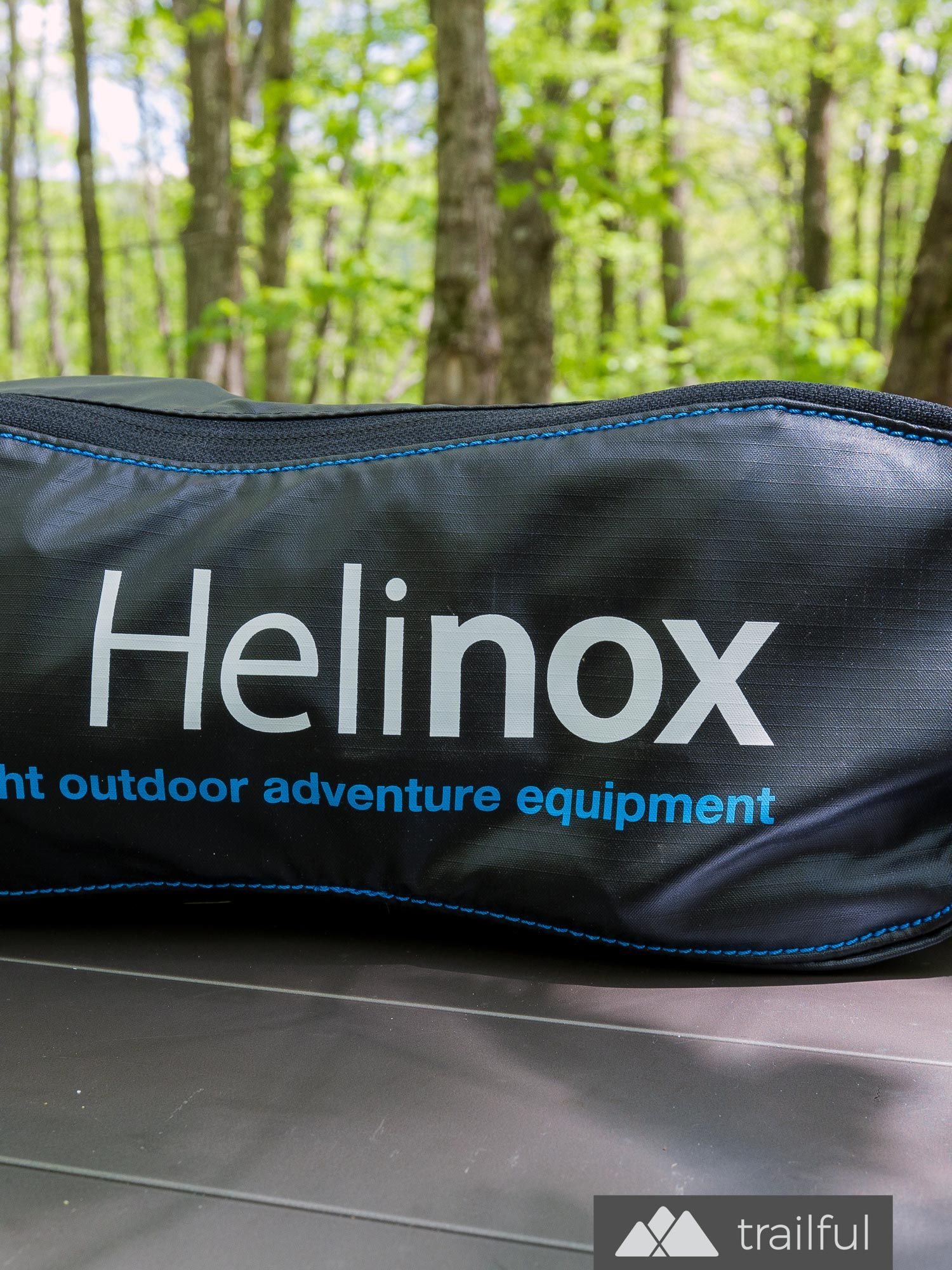 The Helinox Chair One packs small, making it our go-to camp chair for stashing in a backpack or camp duffel