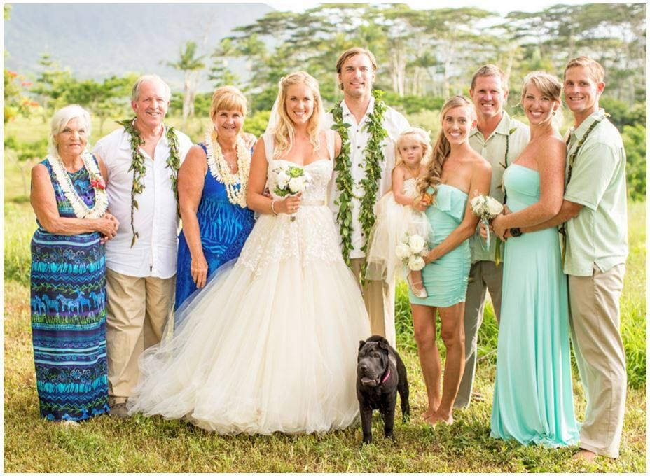 Perfect Hawaii Wedding. (soul Surfer)
