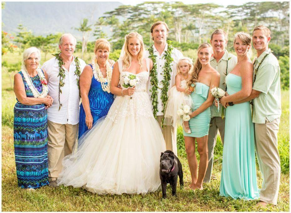 Perfect Hawaii Wedding Soul Surfer Bethany Hamilton Surfer Wedding Soul Surfer