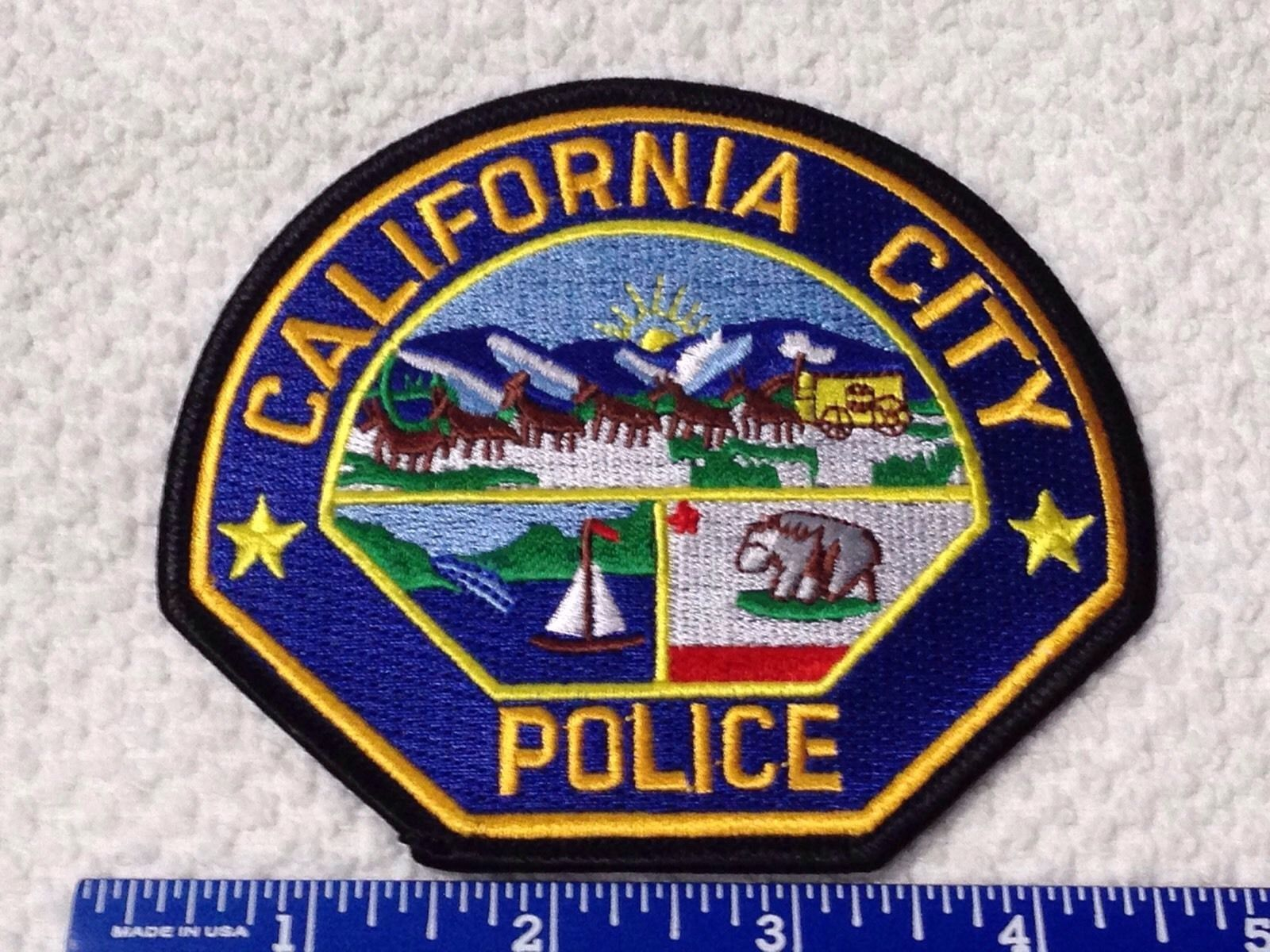 California City California Ca Police Patch 4 45 California City Police Patches Police
