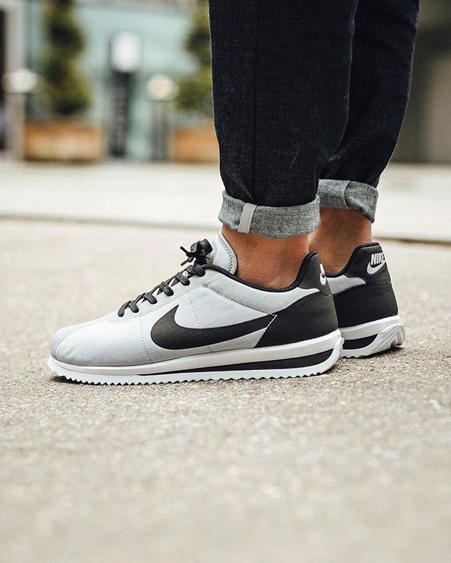 Nike Cortez Ultra  Wolf Grey Black White  cc2fb7f47