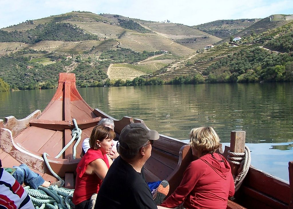https://flic.kr/s/aHsj8xgSbK | Road Tour - Port Wine Country | Get to know all about Portugal´s unique Port Wine while riding in the historic Douro region of Portugal, the oldest demarcated wine region in the world. During the week, you will sample many different kinds of Port Wine, visit the old cellars in Porto and also discover some of the 12th Century Historical Villages of Portugal. Another highlight of this trip is the boat ride on the Douro River, which floats you close to the…