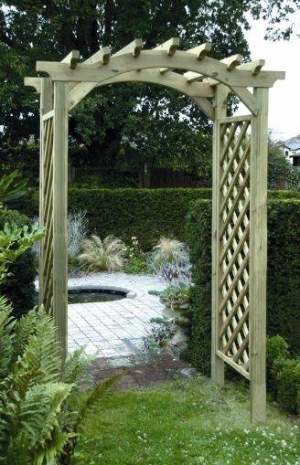 Garden Arches, Wooden, Timber, Garden, Arches,rose Arch, Cheap Stock