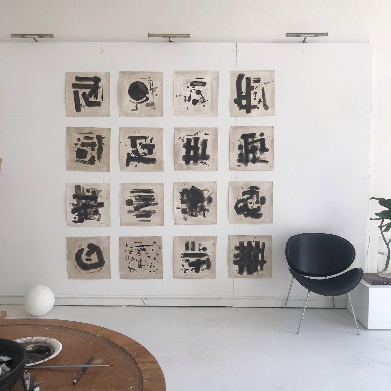 Mckenzie Dove Fine Art Mini Oil Paintings In Black And White And Neutral Tones Interior Decor Mini Oil Painting White Interior Design Black And White Interior