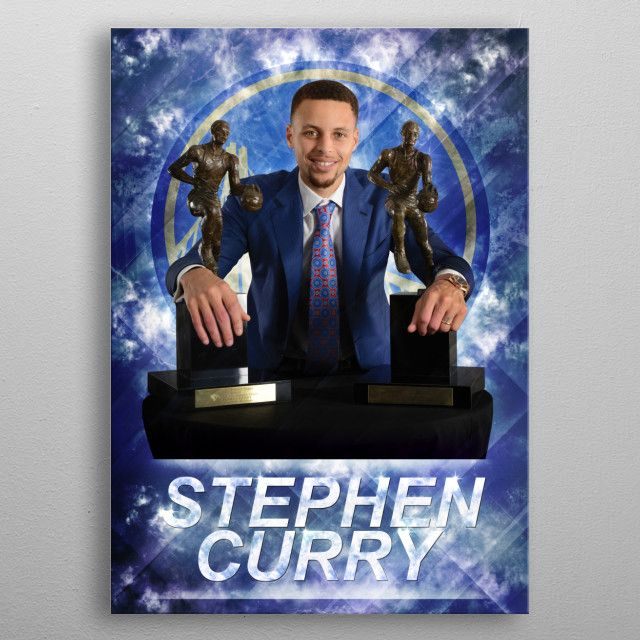 Poster of Stephen Curry by Dejan M. | metal posters - Displate | Displate thumbnail