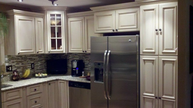 Dakota White Rta Kitchen Cabinets: Tuscany White Maple Kitchen Cabinets