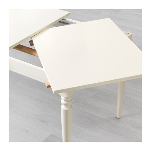 Ingatorp Extendable Table White