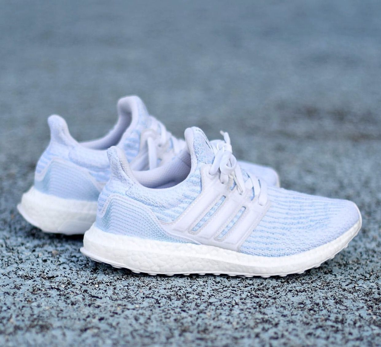 22b5b2d2d Made from 11 plastic bottles  recycled ocean waste. Adidas x Parley Ultra  Boost 3.0. Release date not yet confirmed.