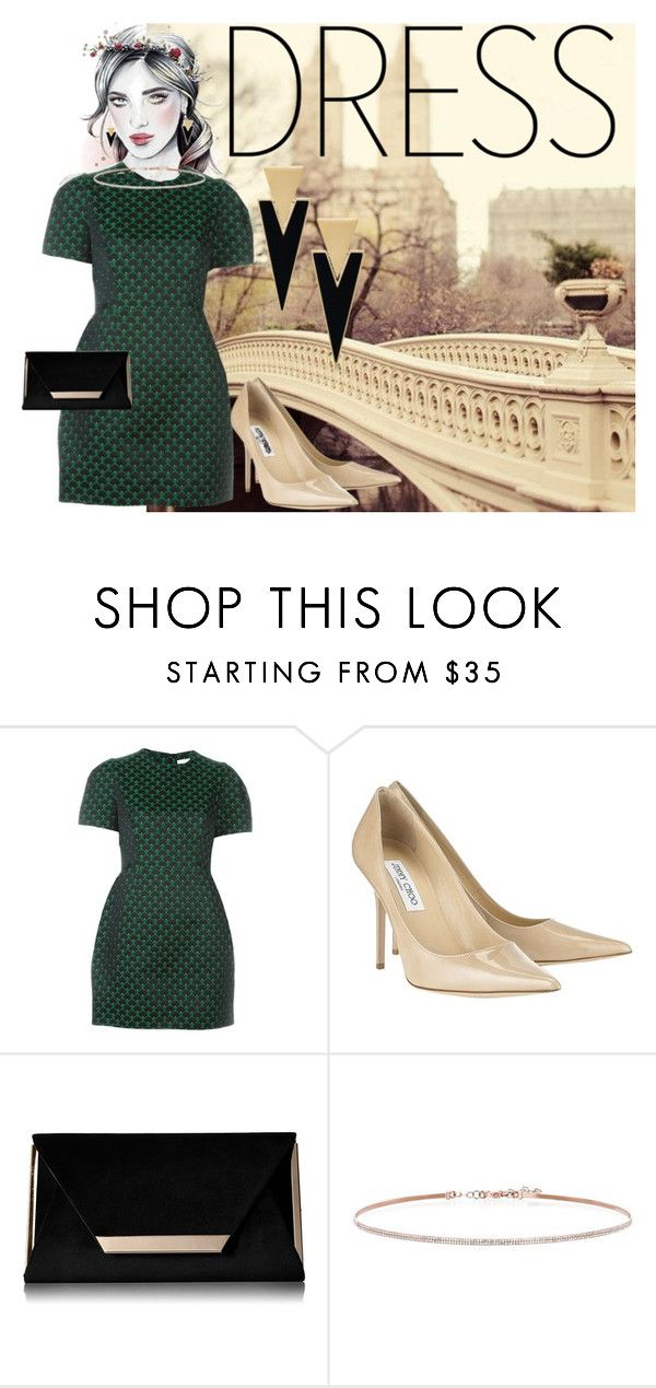 """""""Untitled #252"""" by joanna99p ❤ liked on Polyvore featuring Mary Katrantzou, Jimmy Choo, Call it SPRING, EF Collection and Yves Saint Laurent"""