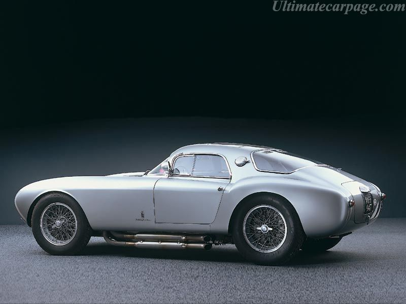 Delicieux 1954 Maserati Berlinetta (Pininfarina) Only 4 Were Built.