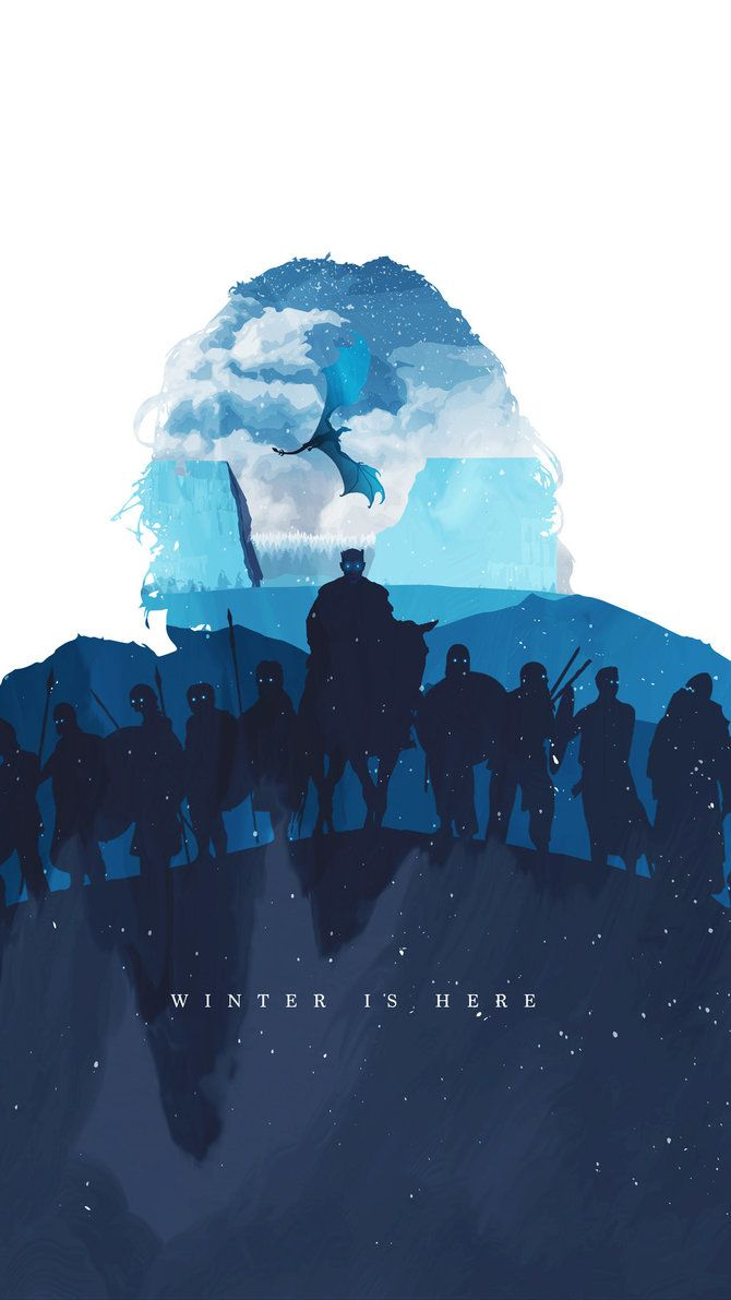 Winter Is Here Bg By Maxbeechcreative Game Of Thrones Poster Got Game Of Thrones Game Of Thrones Fans