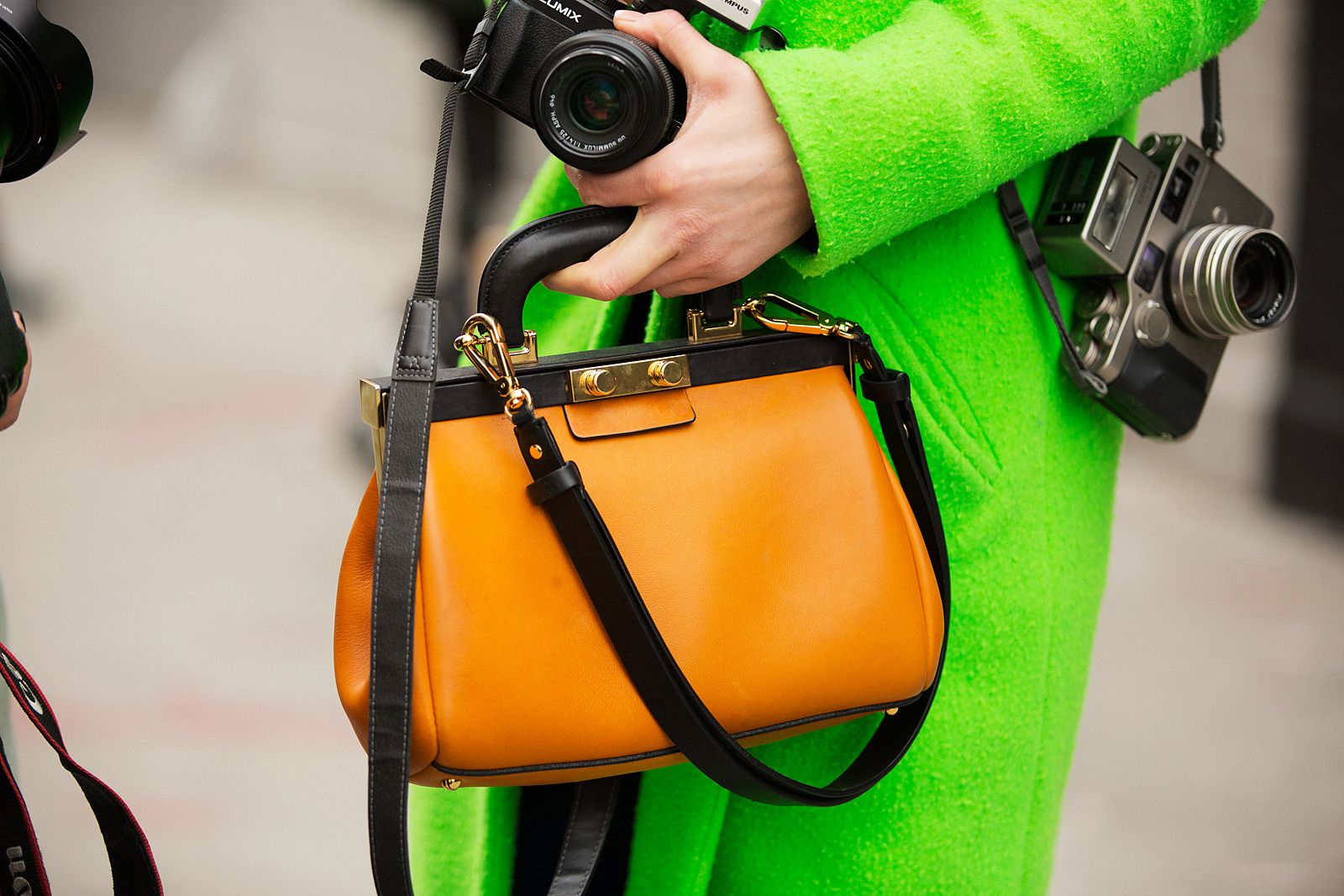 Bag Stalking! 26 Real-Life Pieces We Need From NYFW #refinery29  http://www.refinery29.com/43198#slide1  It may be winter, but that doesn't mean we're not crazy about color.