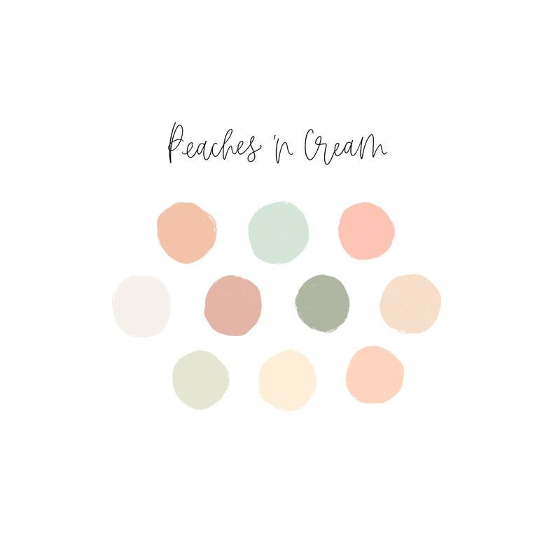 Story Highlight Covers Procreate Color Palette In 2020 Pastel Colour Palette Color Palette Design Peach Color Palettes