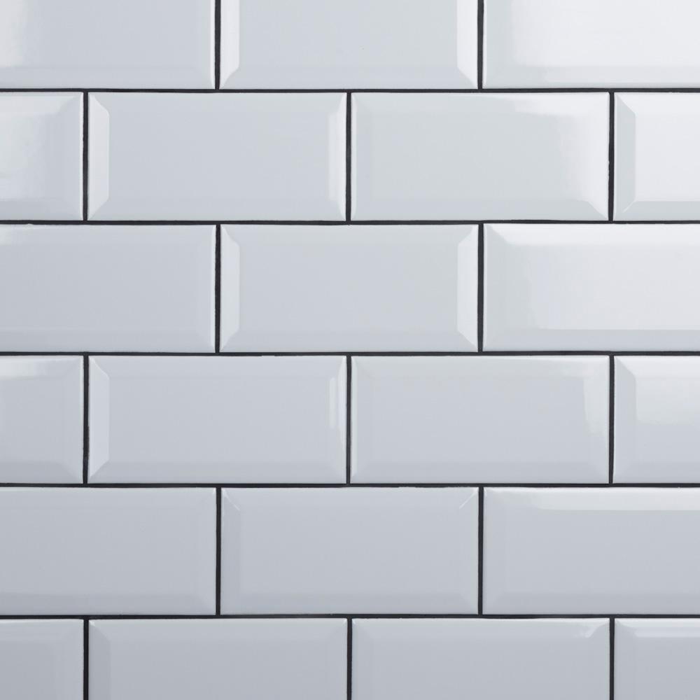 ceramic wall tiles beveled subway tile