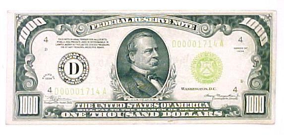 1 000 Dollar Bill Secrets Hidden Within Thousand Dollar Bill 1000 Dollar Bill Money Notes
