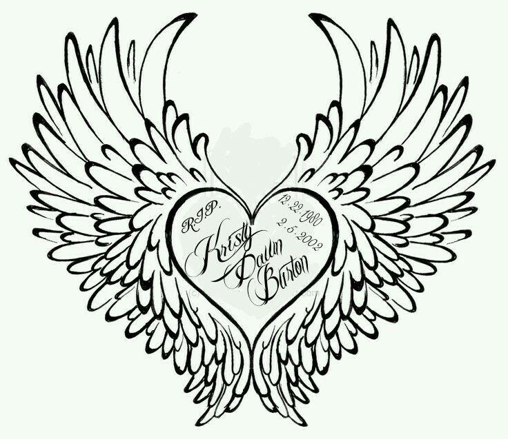 Art by Misty Dawn | Heart with wings tattoo, Wings tattoo