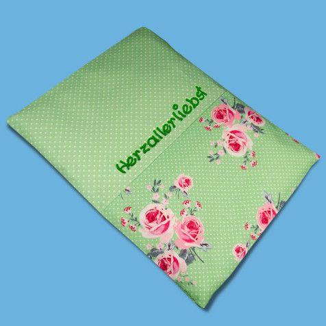 Wärmekissen Rosenglück, Körnerkissen, Muttertagsgeschenk, Mama Geschenk, Geschenk Mutter
