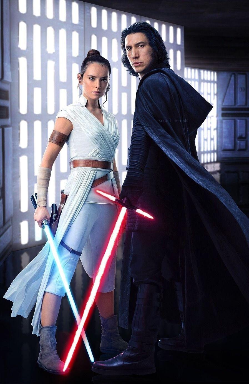 Photo of Ich habe ein wirklich gutes Gefühl bei Reylo Kylo Ren Ben Solo und Rey in The Ri