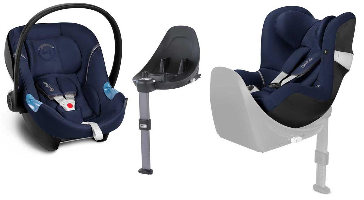 das modulare system von cybex sicher im auto von geburt. Black Bedroom Furniture Sets. Home Design Ideas